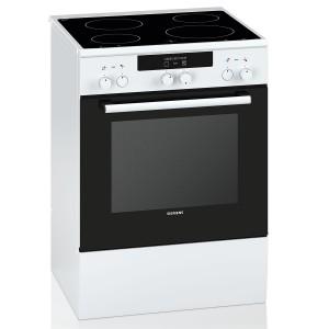Siemens Κεραμική κουζίνα HA722210G Λευκή