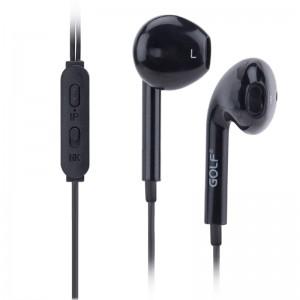 GOLF Ακουστικά Handsfree M1, Black (GF-M1-BK)