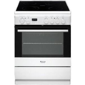 Hotpoint-Ariston Ηλεκτρική Κουζίνα H6VMH6A(W)