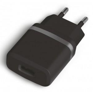 POWERTECH Φορτιστής Τοίχου PT-415, 1x USB, Black
