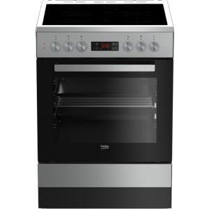 Beko Κεραμική Κουζίνα FSM 67320DXT Inox