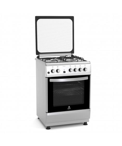 Thermogatz Κουζίνα αερίου μικτή 3 εστίες αερίου,1 εστία ηλεκτρική TG 3020 IX - INOX