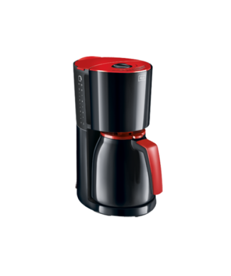 Melitta ENJOY Therm Καφετιέρα Φίλτρου Κόκκινο-Μαύρο(1017-10)