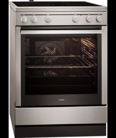 AEG Κεραμική κουζίνα 40006VS-MN Inox A 74lt