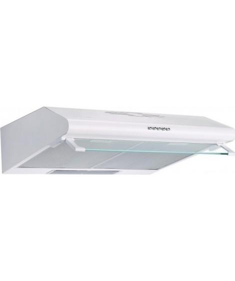 Pyramis Απλός Απορροφητήρας 60cm 2 Μοτέρ Με Μεταλλικά Φίλτρα Λευκός 065029301
