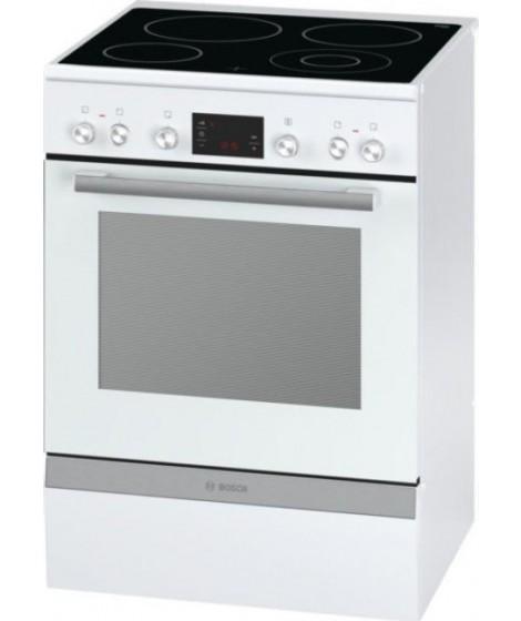 Bosch HCA743320G Ελεύθερη κουζίνα κεραμική λευκή