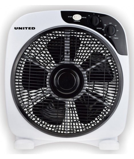 United UBF697 Box Ανεμιστήρας Επιτραπέζιος