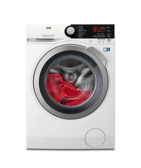 AEG L7FBE48S Πλυντήριο Ρούχων 8kg 1400Στροφές Α+++-30%