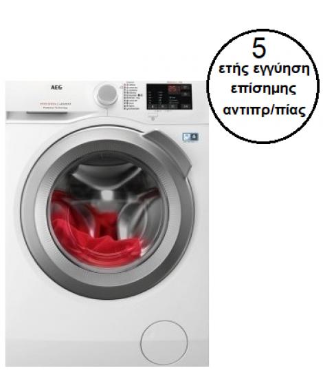 AEG L6FBI48S Πλυντήριο Ρούχων 8kg 1400rpm Α+++