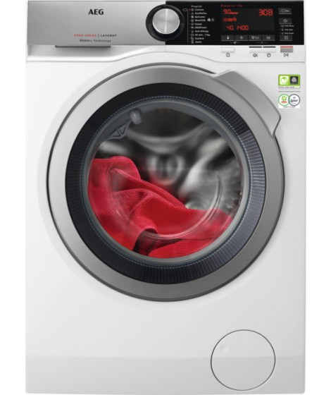 AEG L8FEC49S Πλυντήριο Ρούχων 9Kg 1400rmp A+++50%-(Κανονισμός (ΕΕ) 2017/1369): B