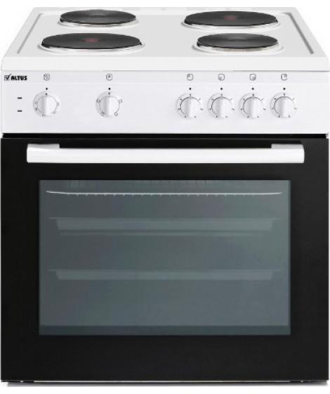ALTUS AL 584 GW Ηλεκτρική Κουζίνα Εμαγιέ 71lt - A