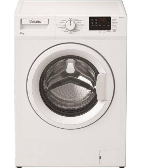 ALTUS ALX 8112 Πλυντήριο Ρούχων 8 κιλά, Α+++