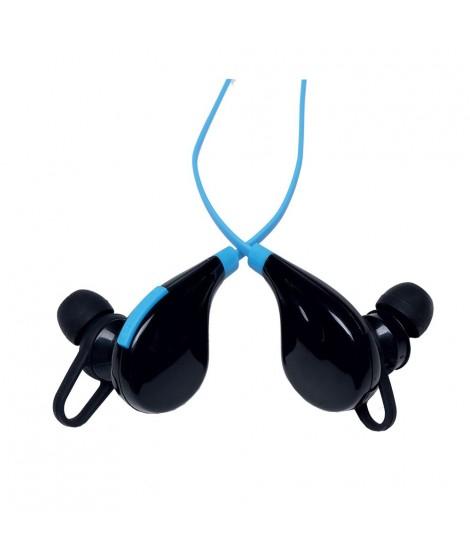 Audioline Ακουστικά ψείρες Bluetooth Μπλέ L8