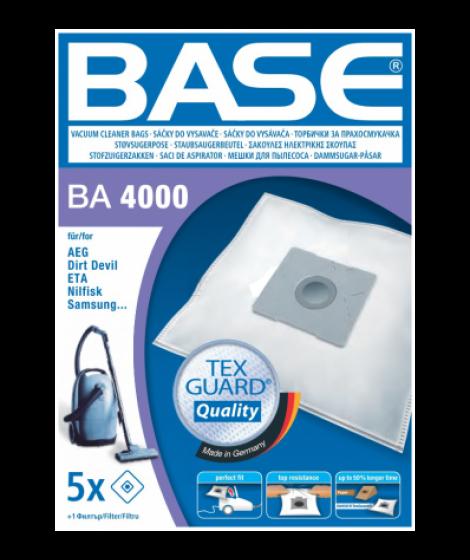BASE Σακούλες Ηλεκτρικής Σκούπας BA 4000