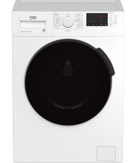 BEKO WTC8622XCW Πλυντήριο Ρούχων 8kg - A+++ - 1200rpm