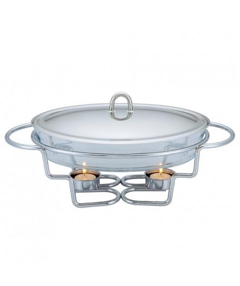 Berlinger Haus BH-1382, 3 σε 1 Σετ ψησίματος-θέρμανσης-διατήρησης φαγητού με ρεσό και πυρίμαχο οβάλ σκεύος 3lt
