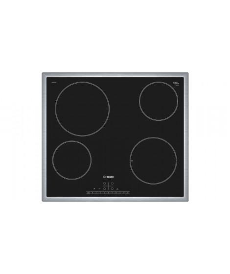 Bosch Ηλεκτρικές εστίες PKE645FN1E(PLUS) 60 cm Μαύρο