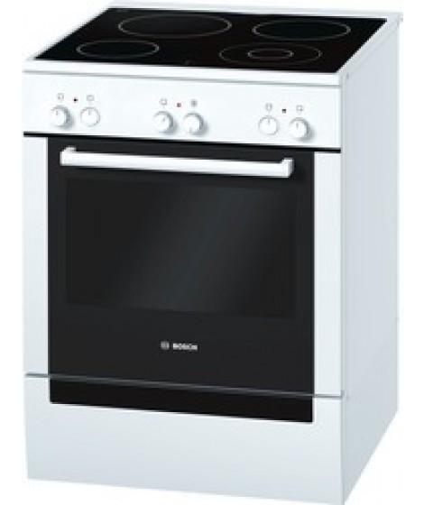 Bosch Κεραμική Κουζίνα HCE723223G Λευκή