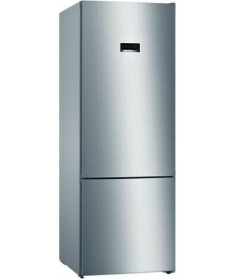 Bosch Ψυγειοκαταψύκτης KGN56XLEA Inox 193x70cm με 5 χρόνια εγγύηση
