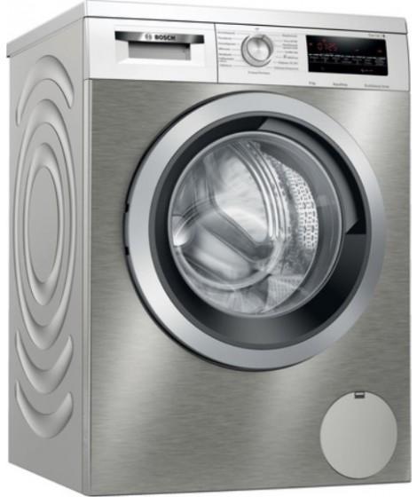 Bosch WUU28TX9GR Πλυντήριο ρούχων 9kg 1400rpm silver-inox/stainless steel