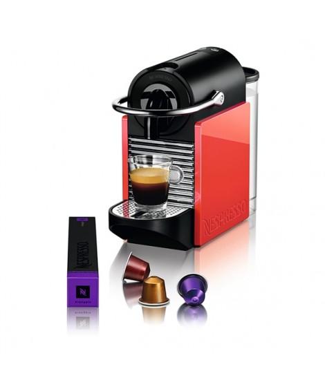 Delonghi Μηχανή Nespresso EN126 Pixie Clips White & Coral Neon & Δώρο κάψουλες