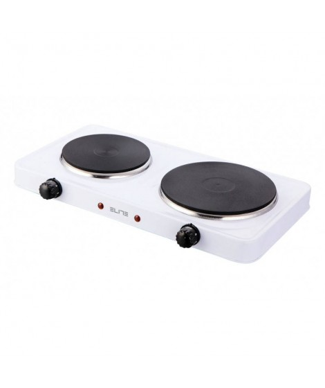 Elite EHP-0283W Διπλό Ηλεκτρικό Μάτι Κουζίνας 2500W