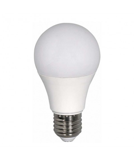 Eurolamp Λάμπα LED SMD Κοινή 9W Ε27 2700K 220-240V Dimmable 147-82174
