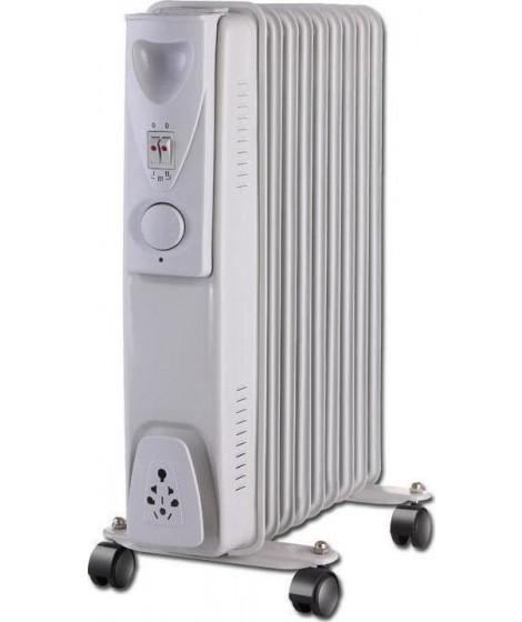 Eurolamp Ηλεκτρικό καλοριφέρ λαδιού 9 φέτες 2000W(147-29460)