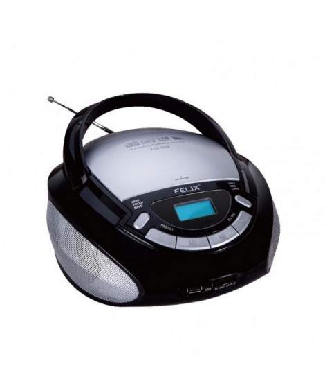 Felix Φορητό Ράδιο-CD/ MP3 Player FCD-3916