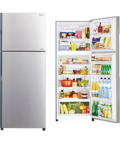 Hitachi Δίπορτο Ψυγείο R-V470PRU3 (SLS)