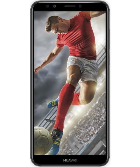Huawei Y7 Prime 2018 Black Dual Sim Κινητό Smartphone