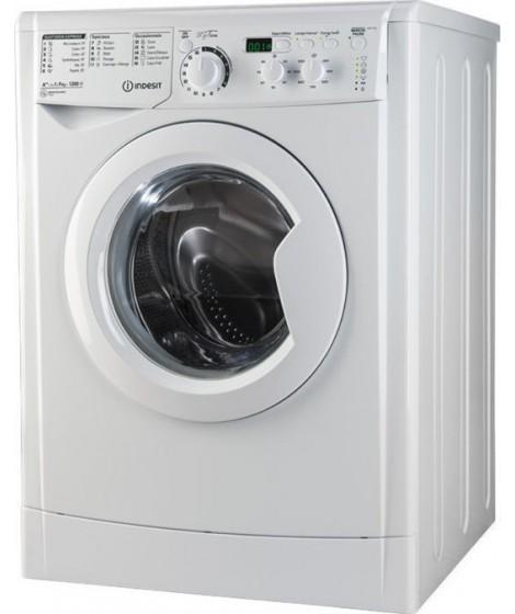 Indesit Πλυντήριο Ρούχων EWD 71051 W EU 7kg 1000 στροφές A+