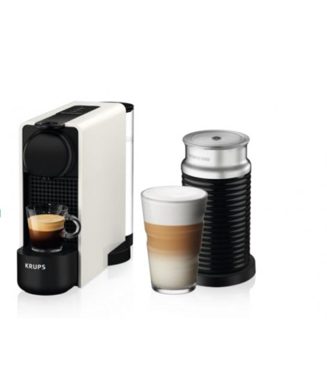 Krups Nespresso XN5111S Essenza Plus White & Δώρο κουπόνι αξίας 30€ για κάψουλες Nespresso