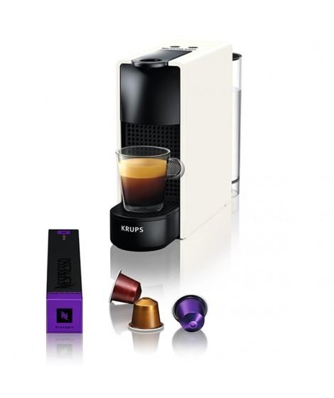 Krups Μηχανή Nespresso Essenza Mini Λευκή XN1101S & Δώρο κάψουλες