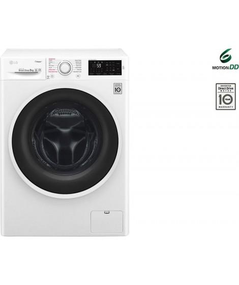 LG F4J6VN0W Πλυντήριο Ρούχων 9kg 1400στρ A+++