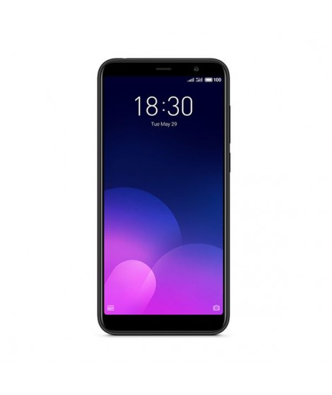 Meizu M6T 32GB Black Dual Sim Κινητό Smartphone