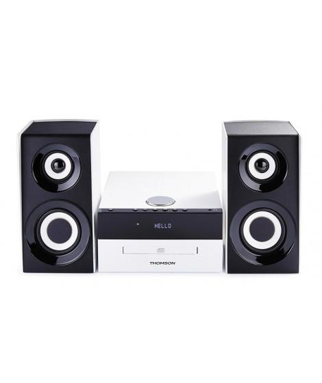 THOMSON HI-FI System MIC301BT, bluetooth, FM/CD/MP3/USB, 75W, λευκό