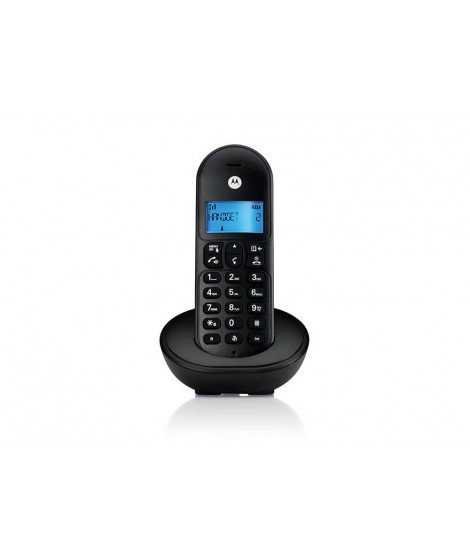 Motorola T101 Ασύρματο Τηλέφωνο Μαύρο