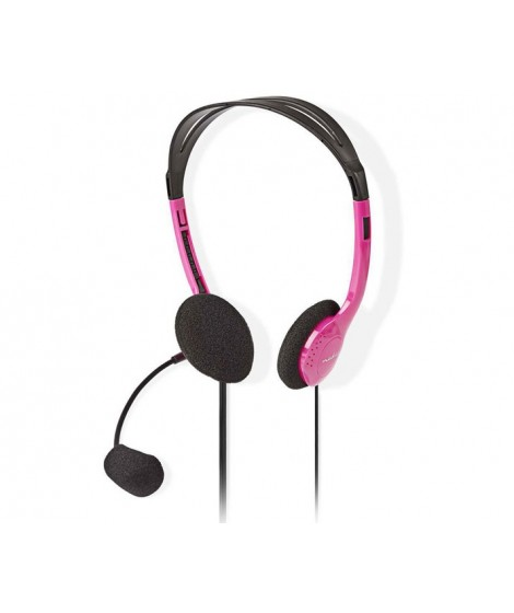 NEDIS CHST100PK Στερεοφωνικό on-ear headset