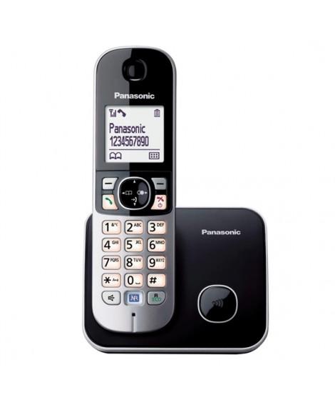 Panasonic Ασύρματο Τηλέφωνο KX-TG6811GRB Μαύρο