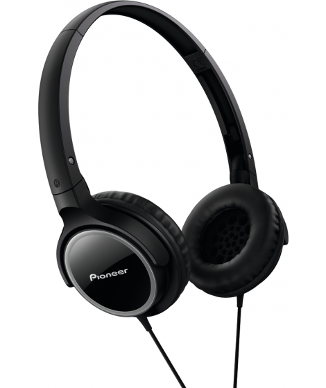 Pioneer SE-MJ512 Ακουστικά Μαύρο-Γκρι