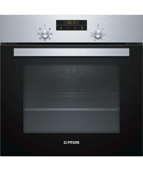 Pitsos Φούρνος Εντοιχιζόμενος Ανω Πάγκου PH10M40X0 (66lt A) Inox