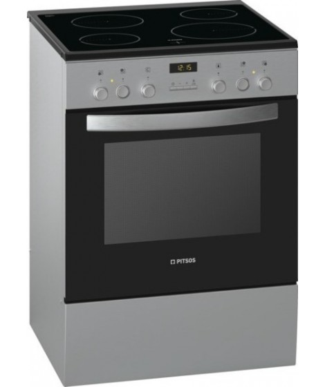 Pitsos Κεραμική Κουζίνα PHCB154M54 Inox