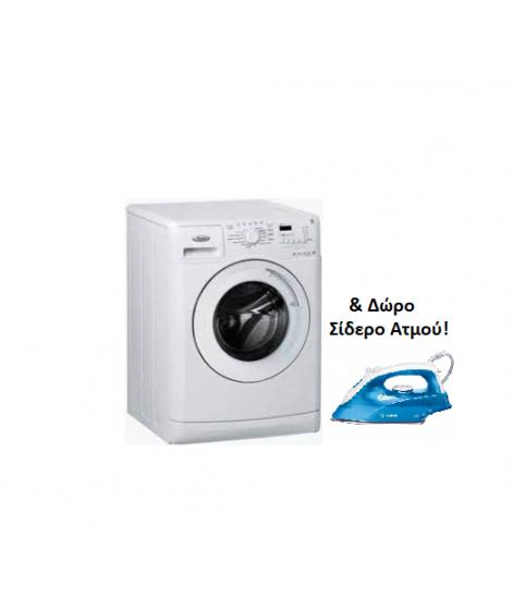 Whirlpool Πλυντήριο Ρούχων AWO/E 91200 9kg 1200στροφές A & δώρο Σίδερο Ατμού TDA2610 Bosch αξίας 20€