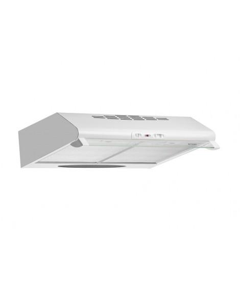 Pyramis Απορροφητήρας Απλός με μεταλλικά φίλτρα 60cm Λευκό 065100101
