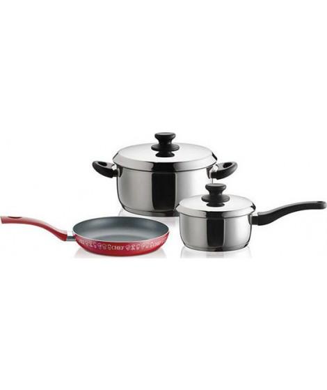 Pyramis Σετ Μαγειρικά Σκεύη Smartcook 5τμχ (014004001)