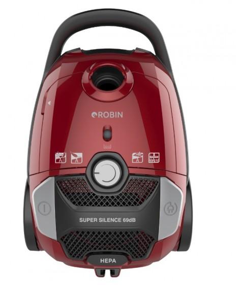 Robin Ηλεκτρική Σκούπα RB-1801 Κόκκινη