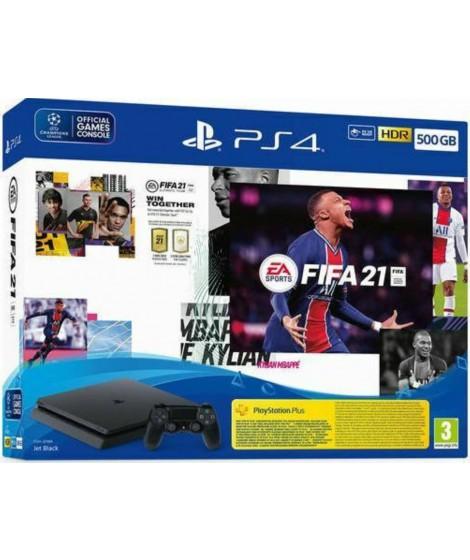 SONY PS4 SLIM 500GB+FIFA 21 (PS719829621) Playstation 4