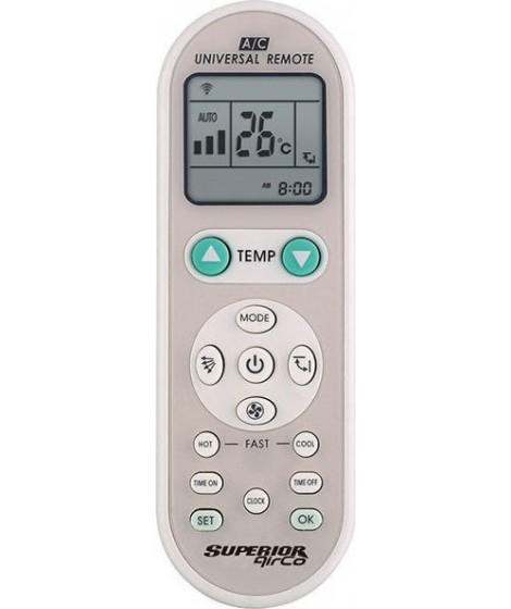 SUPERIOR AIRCO 188-0016 Universal τηλεχειριστήριο αντικατάστασης για air-conditions