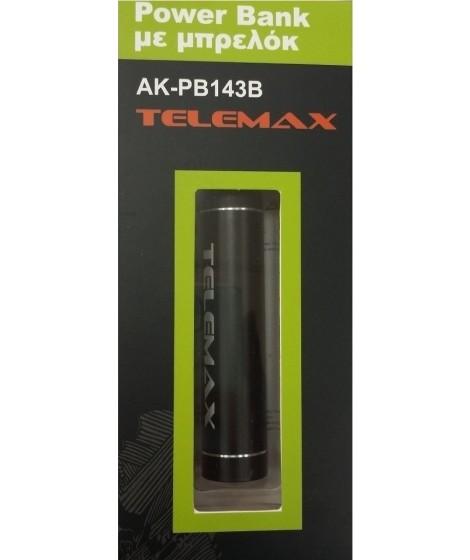 Telemax PowerBank AK-PB143B